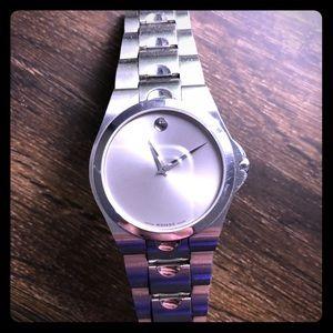Movado sapphire men's watch